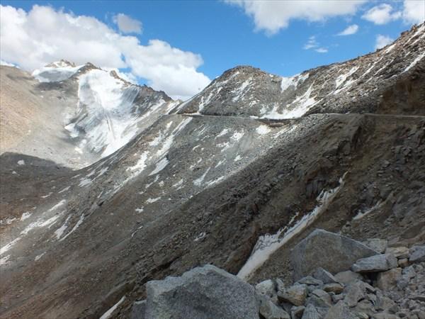 Вид на перевал с другой стороны