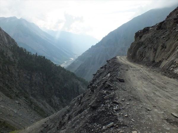 Каргил - Шринагар. Спуск в Кашмир.
