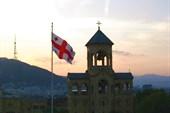 Тбилиси. На территории Цминда Самеба (собор Святой Троицы)