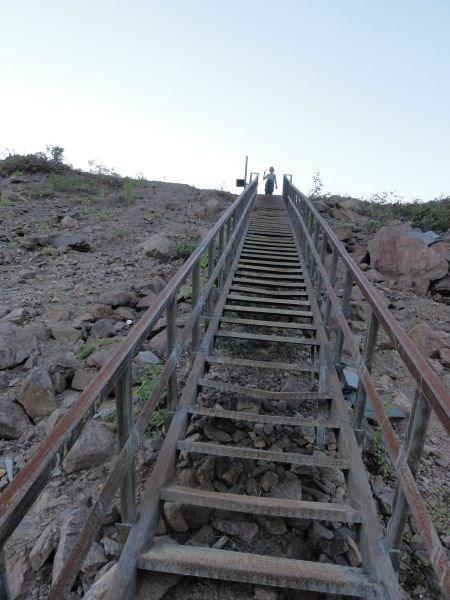 Лестница в Кривом Пороге