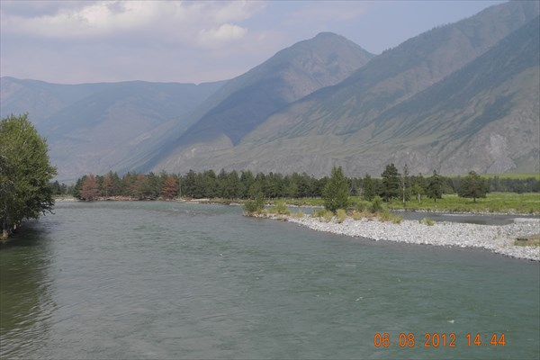 Река Чулышман.