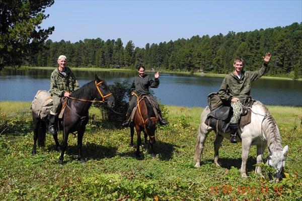 Прощальный снимок на память о  Каракольских озёрах.