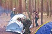 Ставим лагерь
