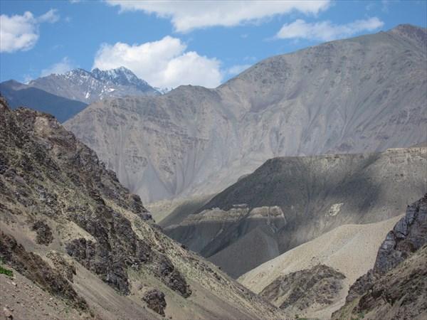Вид на долину Зеравшана