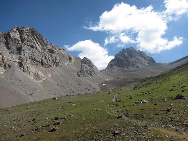 Тропа на Куликалонский перевал