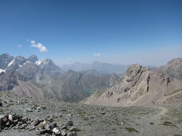 Вид с перевала 1