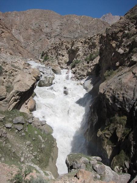 Грязный водопад
