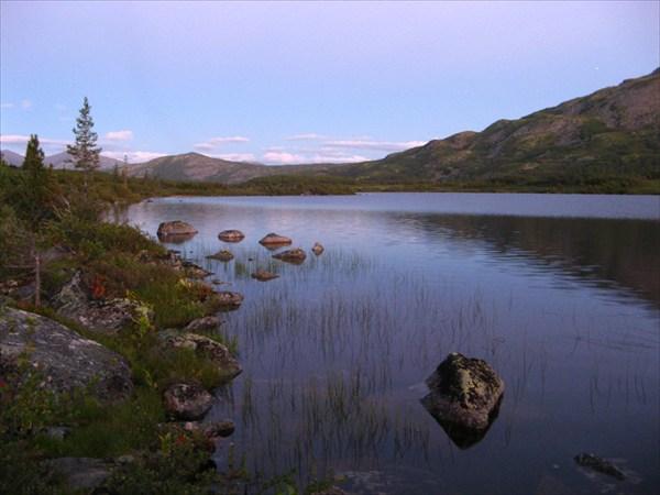 Фото 21. Озеро-исток реки Левой Фролихи