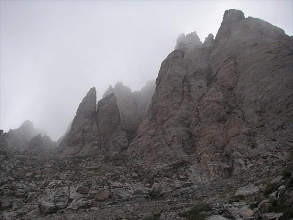 Недалеко от вершины