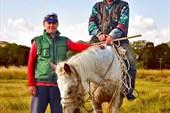 Вадим и киргиз-пастух