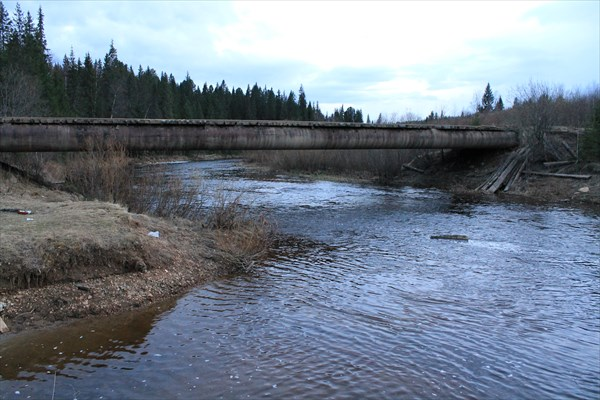 Мост на Средней Усьве