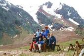 На перевале Талгарский
