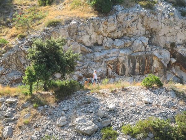 По дороге из Оребика в Трстеник