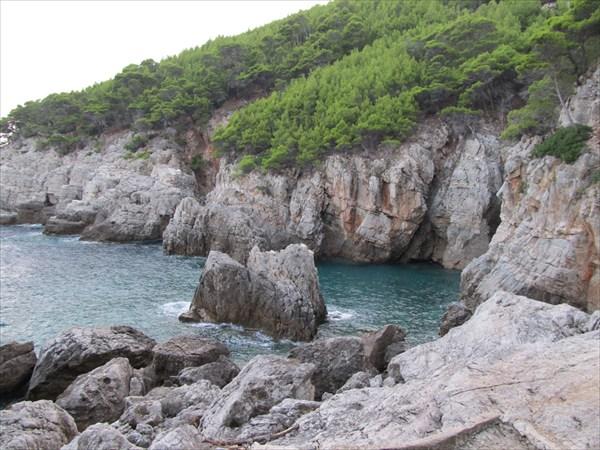 Пляж у кемпинга Ropa