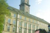 Вид на городскую ратушу