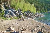 Дикий пляж на Б. Чебачьем