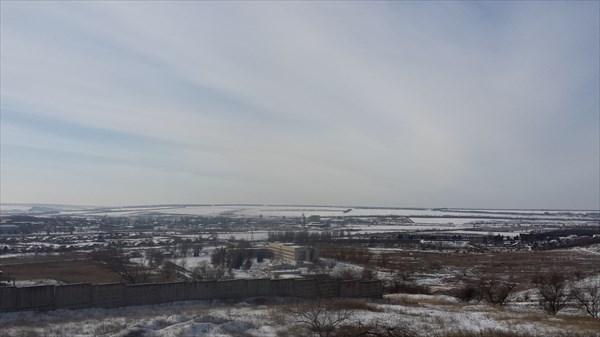 Панорама шахт