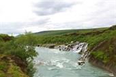 Водопад Hraunfosar