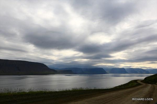 Западные фьорды. Исландия. Фрагмент