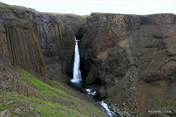 Водопад Litlanesfoss