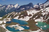 Вид на Зеленые озера