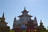 Элиста.Буддийский храм.