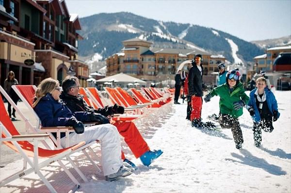 Ski Beach at the Canyons Resort Village