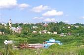 Вид на город с Оки