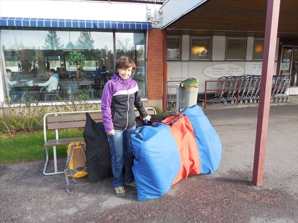 В аэропорту Лаппеенранты