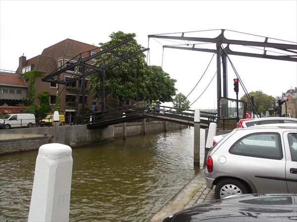 Подъемный мост в Дордрехте