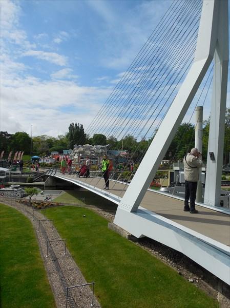 Мост Белый Лебедь в Роттердаме