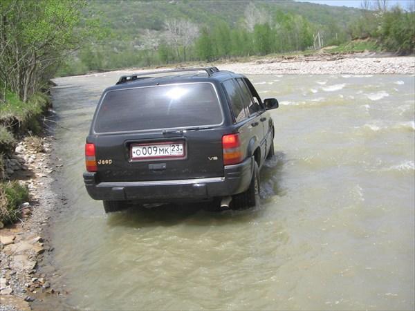 Форсирую реку Дах