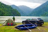 Наш лагерь на Рице