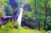 Водопад `Седая борода`