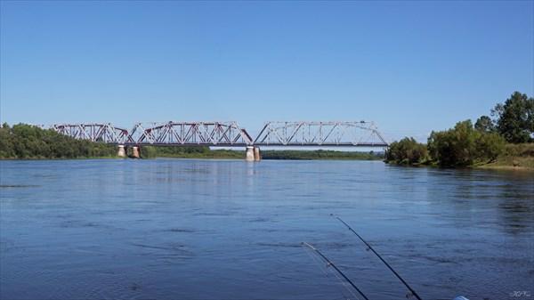 Мост Трансиба у Бирюсинска