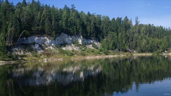 Бирюса в районе притока Кочетар