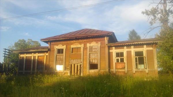 Бывшая станция Оксочи