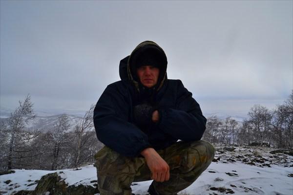 На вершине горы Куркак 1008 м