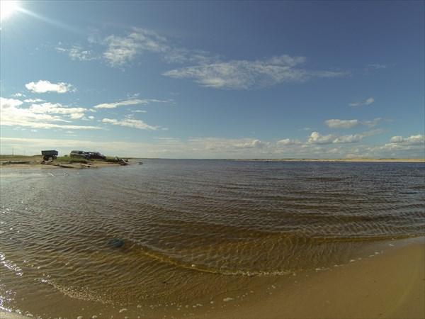 Река Варзуга, Устье