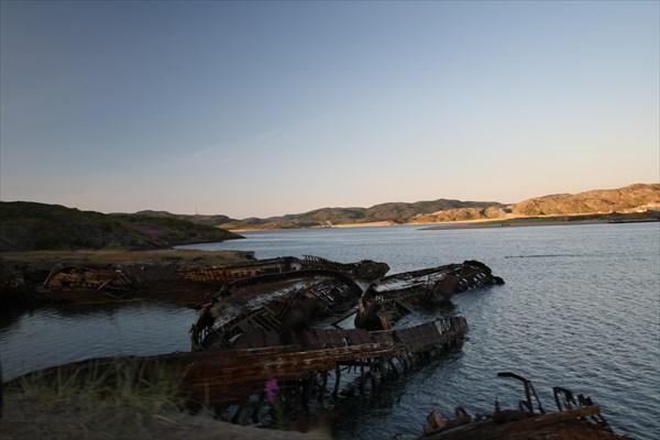 Териберка. Кладбище кораблей