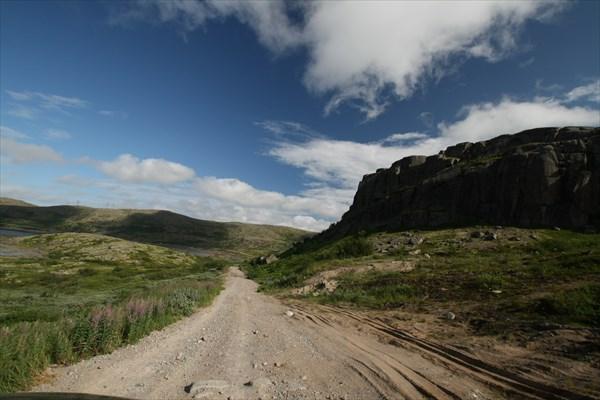 Пейзажи дороги на Дальние Зеленцы