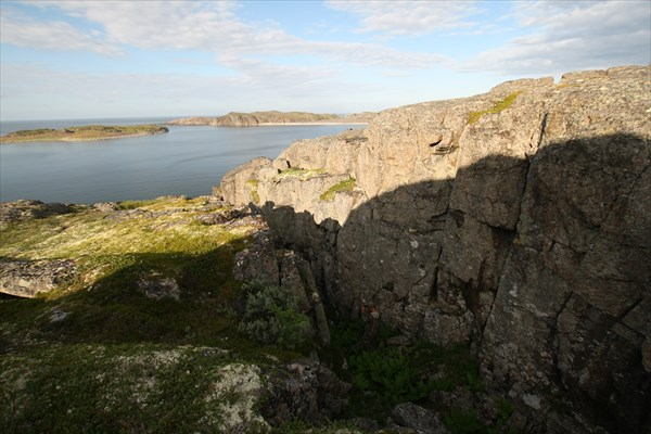 Вид с горы в Дальних Зеленцах