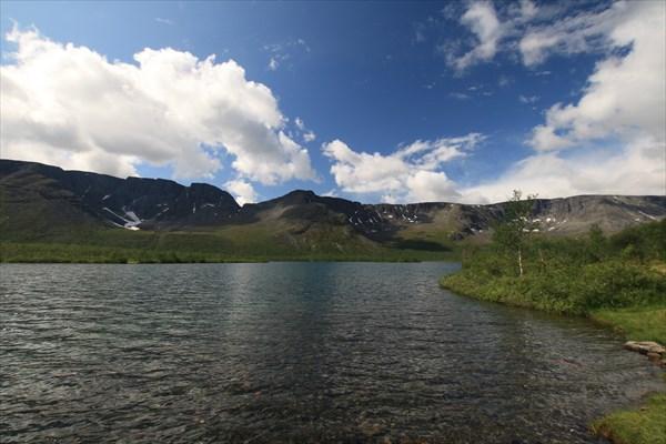 Озеро Малый Вудьявр