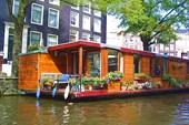 плавающие дома Амстердама