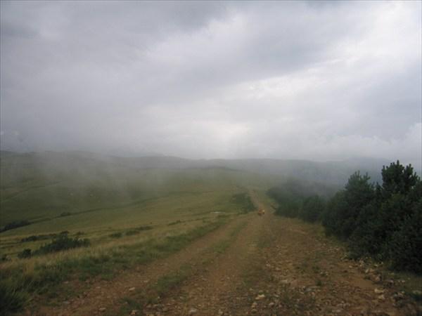 Начинается дождь