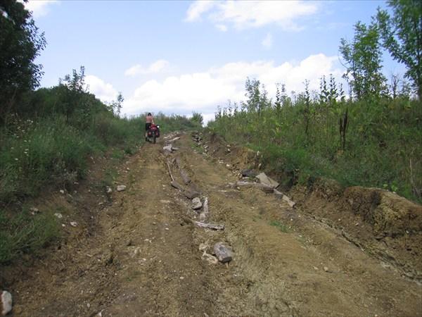 Грунтовый участок между Губской и Новосвободной
