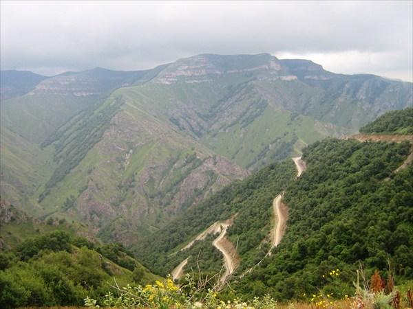 Подъем на плато Бечасын