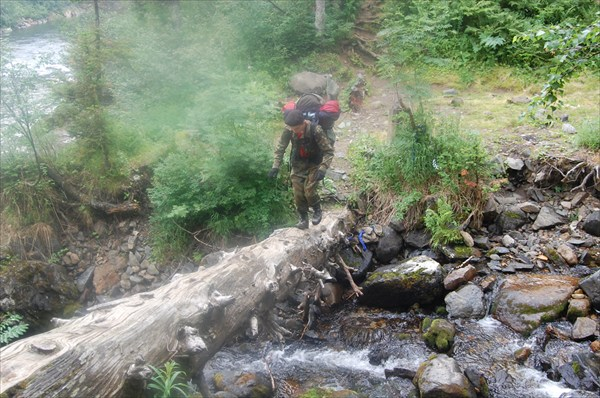 Переправа через ручей