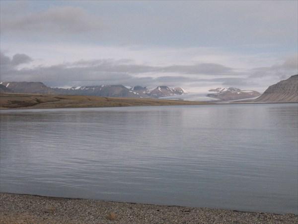 Ледник на горизонте