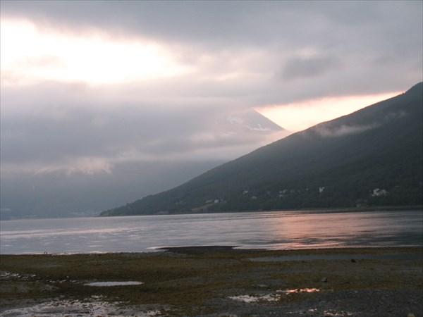 Северная ночь в Норвегии